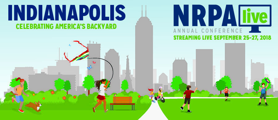 NRPA Live 2018, Streaming from Indianapolis